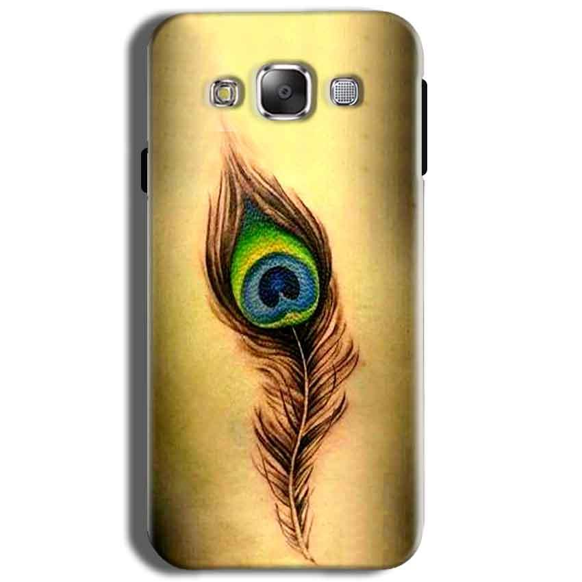 Samsung J2 2015 Mobile Covers Cases Peacock coloured art - Lowest Price - Paybydaddy.com
