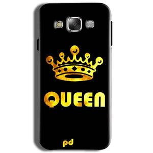 Samsung J2 2015 Mobile Covers Cases Queen With Crown in gold - Lowest Price - Paybydaddy.com