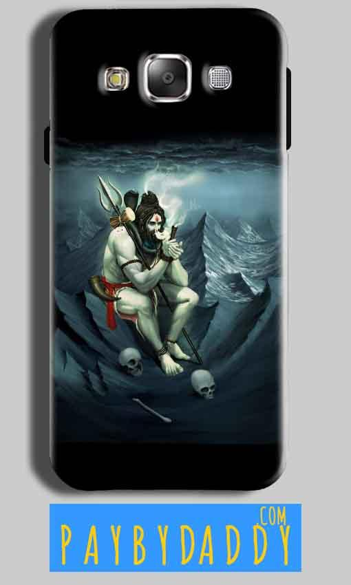 Samsung J2 2015 Mobile Covers Cases Shiva Smoking - Lowest Price - Paybydaddy.com