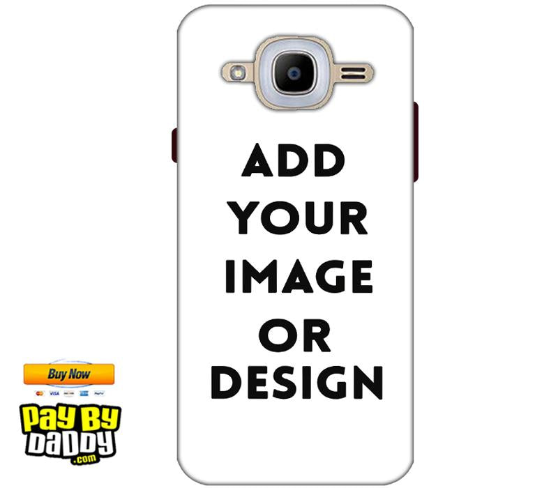 Pic on Cover / Photo Back Cover / Customized Mobile Covers For  Samsung J2 2016
