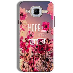 Samsung J2 2016 Mobile Covers Cases Hope in the Things Unseen- Lowest Price - Paybydaddy.com