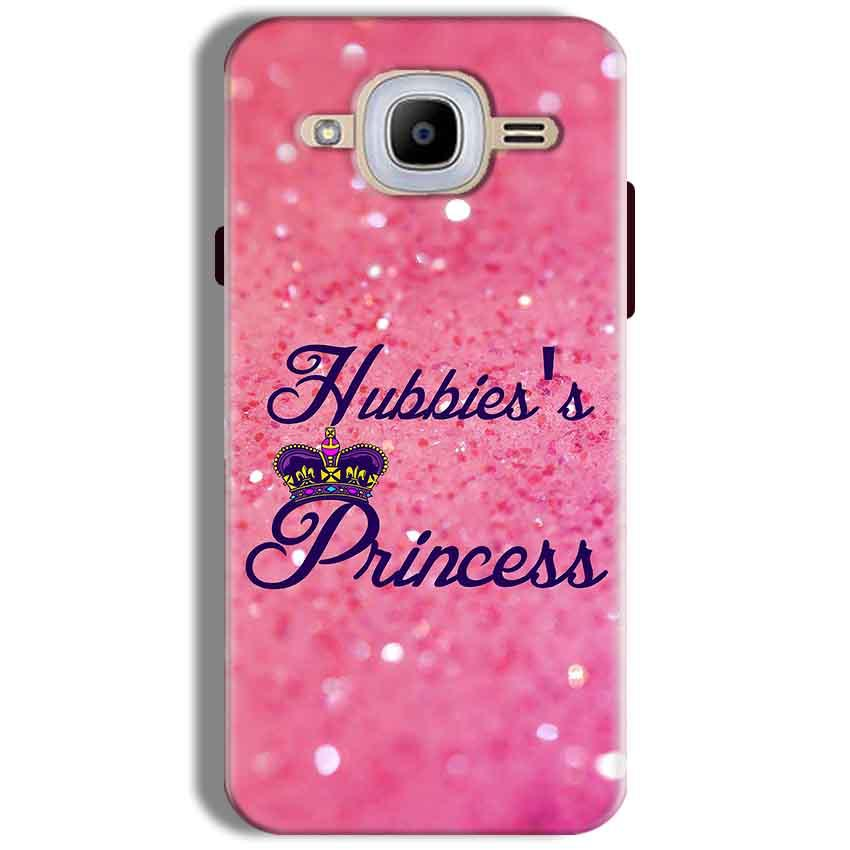 Samsung J2 2016 Mobile Covers Cases Hubbies Princess - Lowest Price - Paybydaddy.com