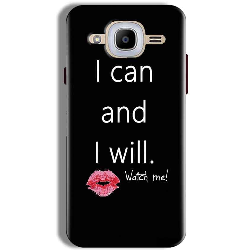 Samsung J2 2016 Mobile Covers Cases i can and i will Lips - Lowest Price - Paybydaddy.com