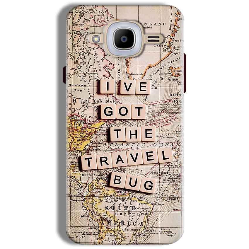 Samsung J2 2016 Mobile Covers Cases Live Travel Bug - Lowest Price - Paybydaddy.com
