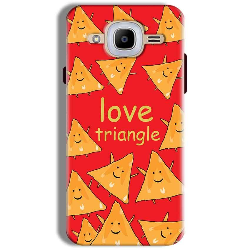 Samsung J2 2016 Mobile Covers Cases Love Triangle - Lowest Price - Paybydaddy.com