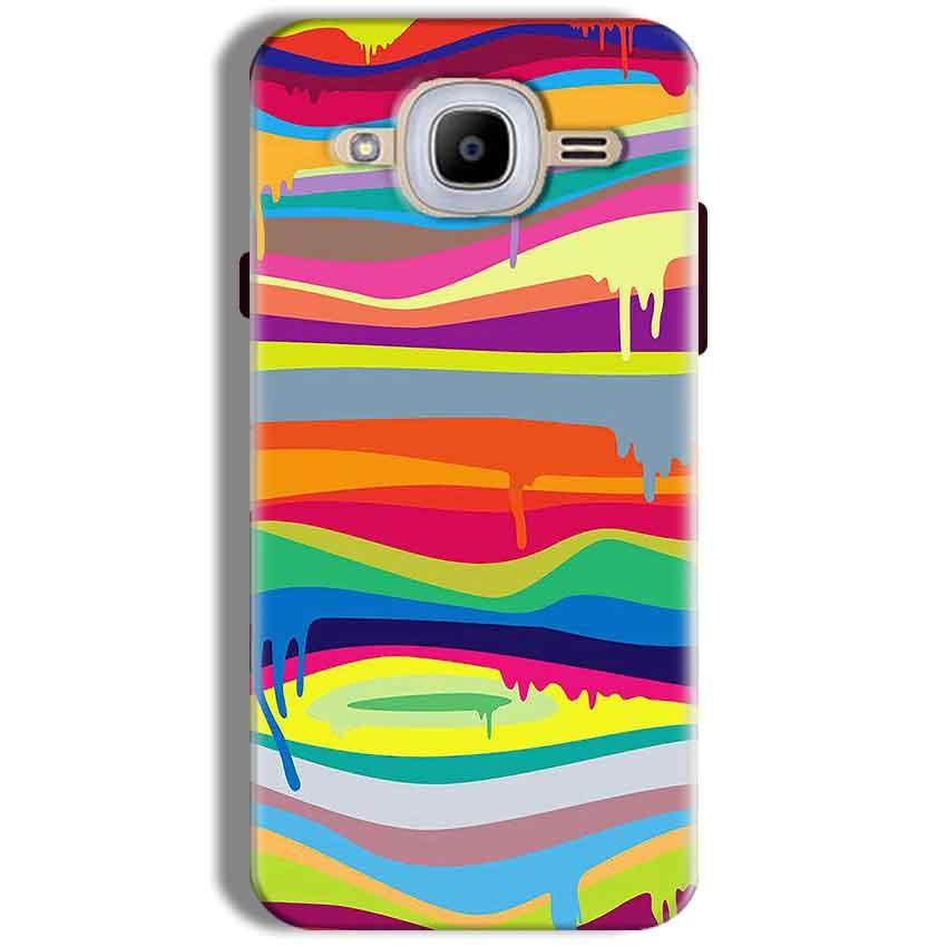 Samsung J2 2016 Mobile Covers Cases Melted colours - Lowest Price - Paybydaddy.com