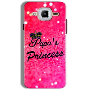 Samsung J2 2016 Mobile Covers Cases PAPA PRINCESS - Lowest Price - Paybydaddy.com