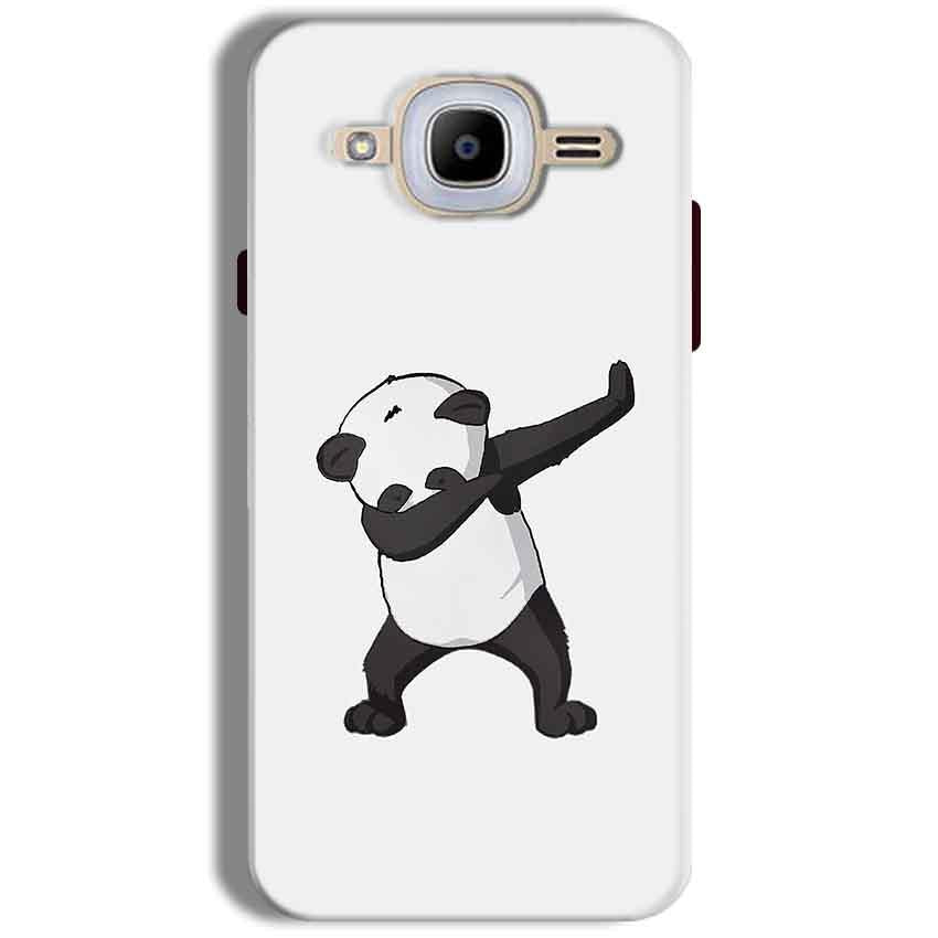 Samsung J2 2016 Mobile Covers Cases Panda Dab - Lowest Price - Paybydaddy.com