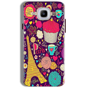 Samsung J2 2016 Mobile Covers Cases Paris Sweet love - Lowest Price - Paybydaddy.com