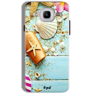 Samsung J2 2016 Mobile Covers Cases Pearl Star Fish - Lowest Price - Paybydaddy.com