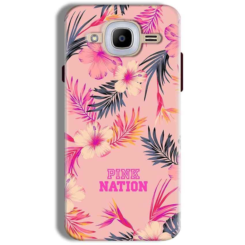 Samsung J2 2016 Mobile Covers Cases Pink nation - Lowest Price - Paybydaddy.com