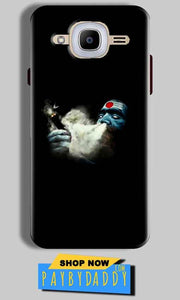 Samsung J2 2016 Mobile Covers Cases Shiva Aghori Smoking - Lowest Price - Paybydaddy.com