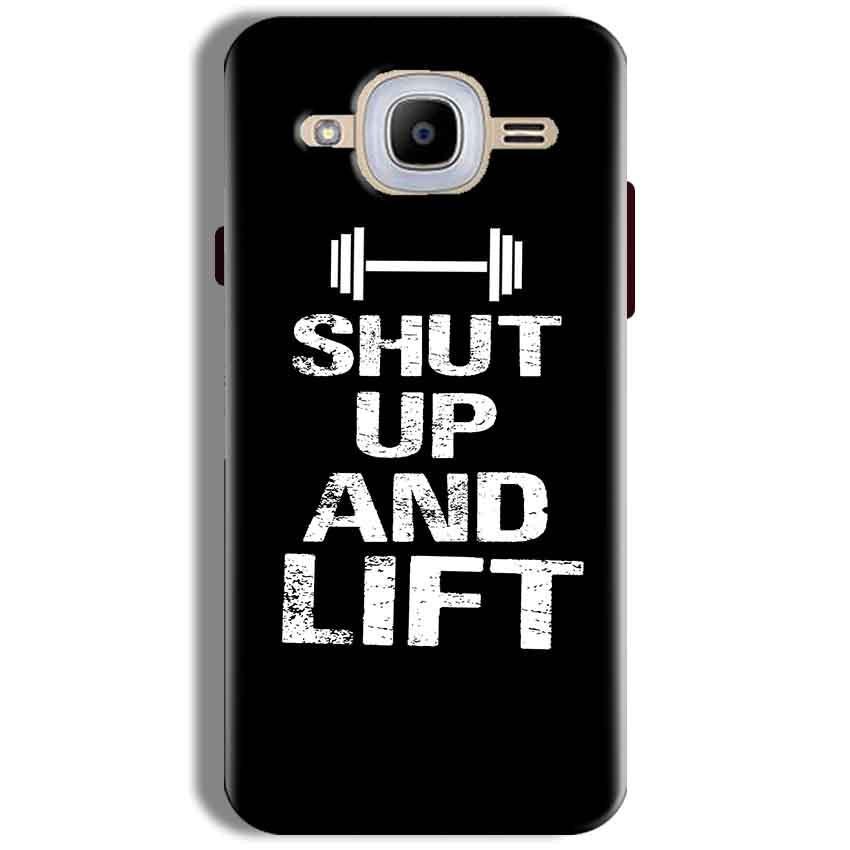 Samsung J2 2016 Mobile Covers Cases Shut Up And Lift - Lowest Price - Paybydaddy.com