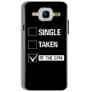 Samsung J2 2016 Mobile Covers Cases Single Taken At The Gym - Lowest Price - Paybydaddy.com