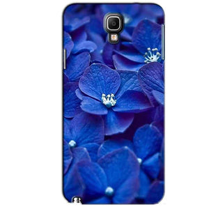 Samsung Note 3 Neo Mobile Covers Cases Blue flower - Lowest Price - Paybydaddy.com