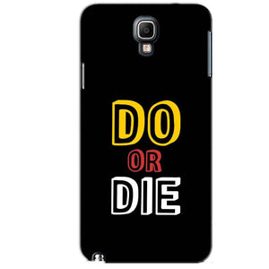 Samsung Note 3 Neo Mobile Covers Cases DO OR DIE - Lowest Price - Paybydaddy.com