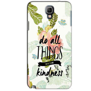 Samsung Note 3 Neo Mobile Covers Cases Do all things with kindness - Lowest Price - Paybydaddy.com