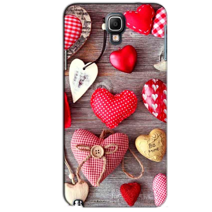 Samsung Note 3 Neo Mobile Covers Cases Hearts- Lowest Price - Paybydaddy.com