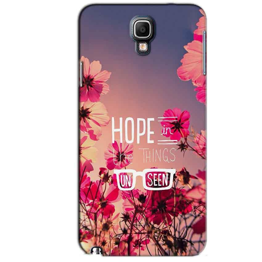 Samsung Note 3 Neo Mobile Covers Cases Hope in the Things Unseen- Lowest Price - Paybydaddy.com