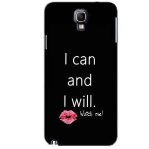 Samsung Note 3 Neo Mobile Covers Cases i can and i will Lips - Lowest Price - Paybydaddy.com