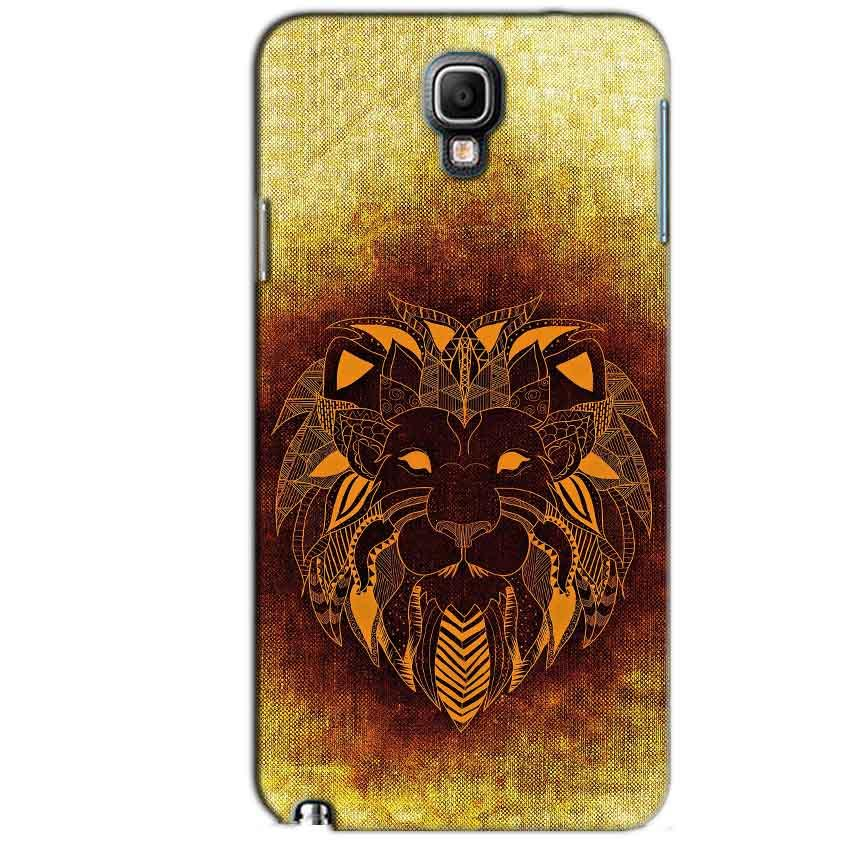 Samsung Note 3 Neo Mobile Covers Cases Lion face art - Lowest Price - Paybydaddy.com