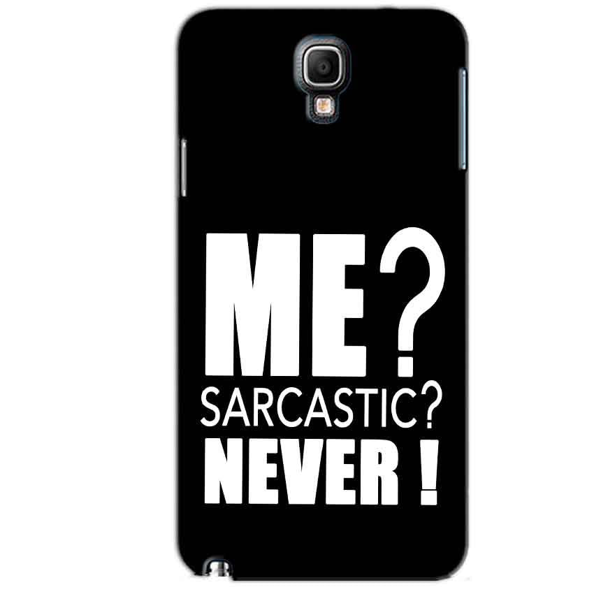 Samsung Note 3 Neo Mobile Covers Cases Me sarcastic - Lowest Price - Paybydaddy.com
