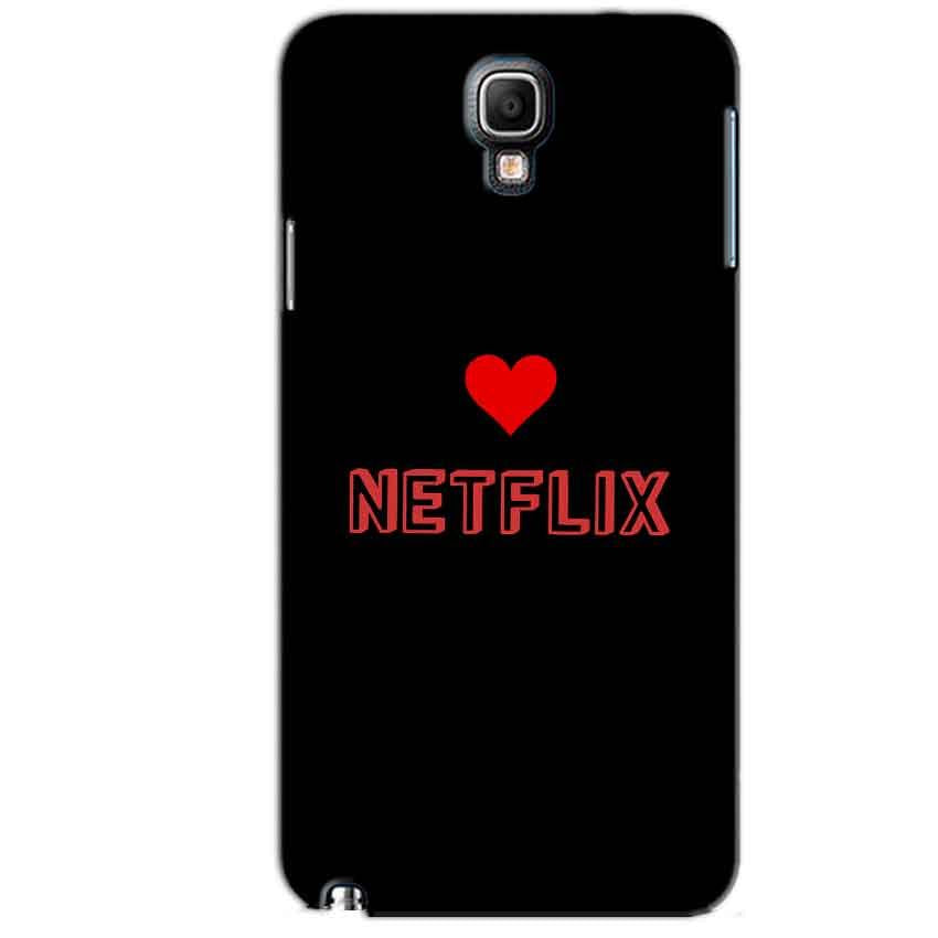 Samsung Note 3 Neo Mobile Covers Cases NETFLIX WITH HEART - Lowest Price - Paybydaddy.com