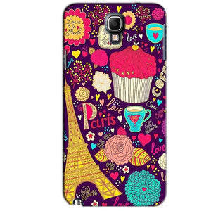 Samsung Note 3 Neo Mobile Covers Cases Paris Sweet love - Lowest Price - Paybydaddy.com