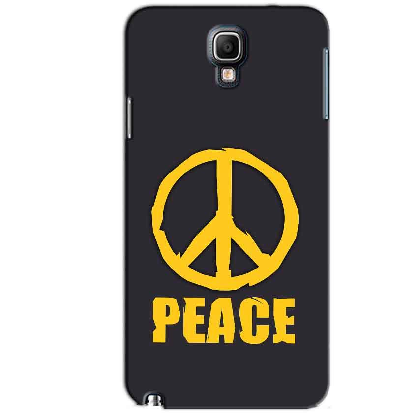 Samsung Note 3 Neo Mobile Covers Cases Peace Blue Yellow - Lowest Price - Paybydaddy.com