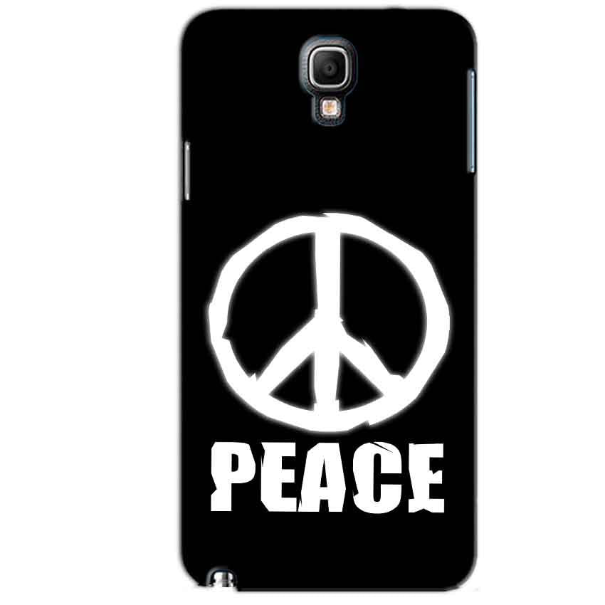 Samsung Note 3 Neo Mobile Covers Cases Peace Sign In White - Lowest Price - Paybydaddy.com