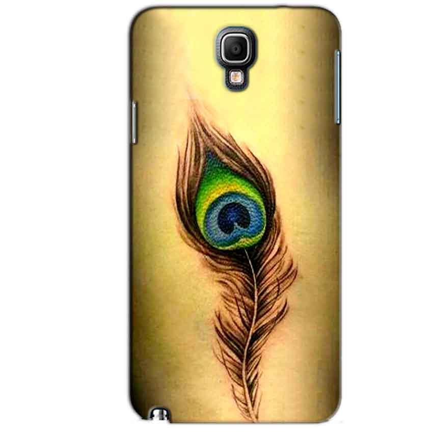 Samsung Note 3 Neo Mobile Covers Cases Peacock coloured art - Lowest Price - Paybydaddy.com