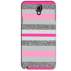 Samsung Note 3 Neo Mobile Covers Cases Pink colour pattern - Lowest Price - Paybydaddy.com