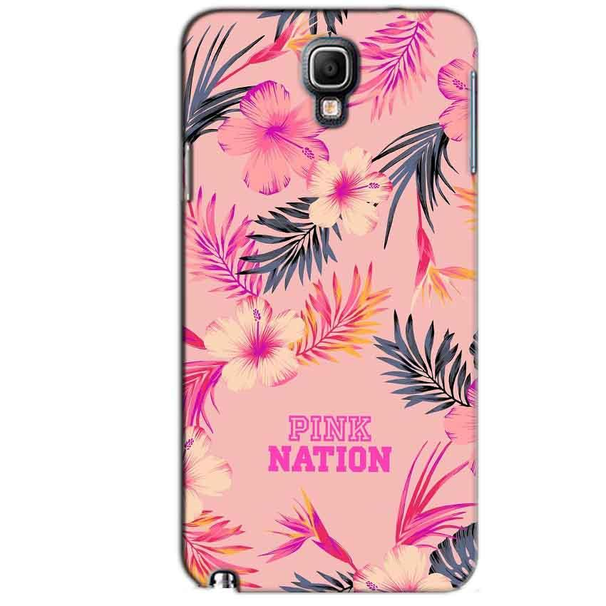 Samsung Note 3 Neo Mobile Covers Cases Pink nation - Lowest Price - Paybydaddy.com