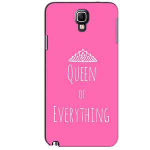Samsung Note 3 Neo Mobile Covers Cases Queen Of Everything Pink White - Lowest Price - Paybydaddy.com