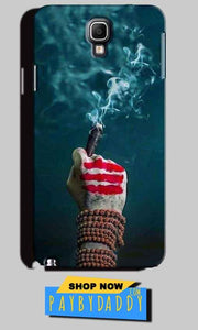 Samsung Note 3 Neo Mobile Covers Cases Shiva Hand With Clilam - Lowest Price - Paybydaddy.com