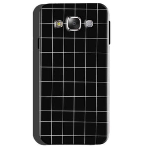 Samsung galaxy Grand 2 G7106 Mobile Covers Cases Black with White Checks - Lowest Price - Paybydaddy.com