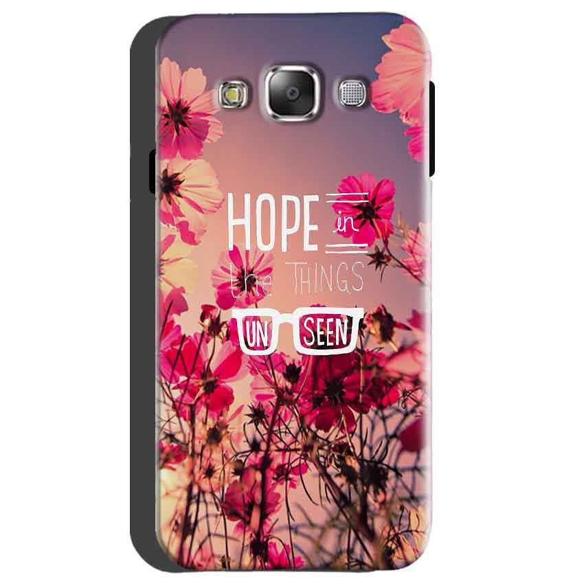 Samsung galaxy Grand 2 G7106 Mobile Covers Cases Hope in the Things Unseen- Lowest Price - Paybydaddy.com