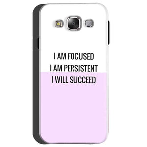 Samsung galaxy Grand 2 G7106 Mobile Covers Cases I am Focused - Lowest Price - Paybydaddy.com