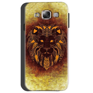 Samsung galaxy Grand 2 G7106 Mobile Covers Cases Lion face art - Lowest Price - Paybydaddy.com