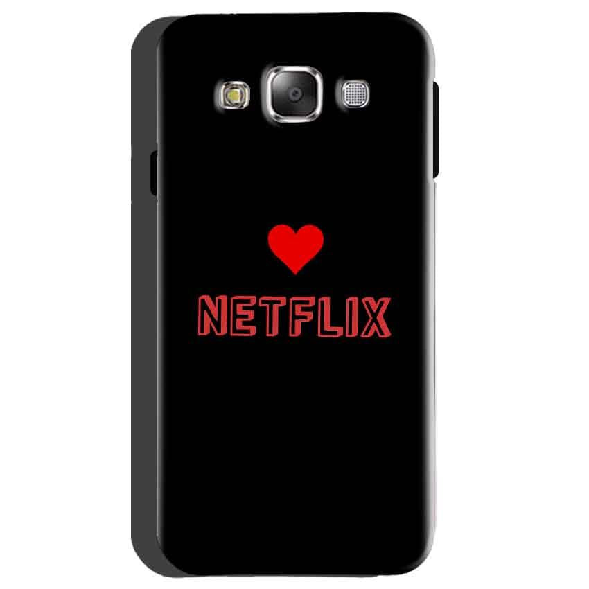 Samsung galaxy Grand 2 G7106 Mobile Covers Cases NETFLIX WITH HEART - Lowest Price - Paybydaddy.com
