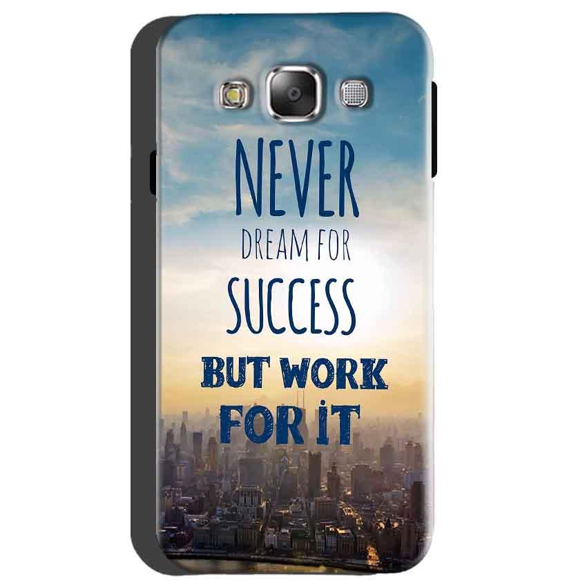 Samsung galaxy Grand 2 G7106 Mobile Covers Cases Never Dreams For Success But Work For It Quote - Lowest Price - Paybydaddy.com