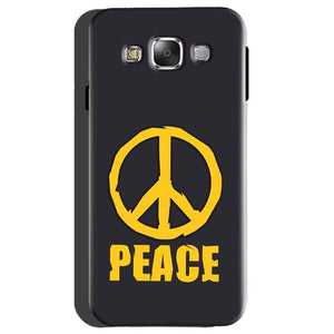 Samsung galaxy Grand 2 G7106 Mobile Covers Cases Peace Blue Yellow - Lowest Price - Paybydaddy.com