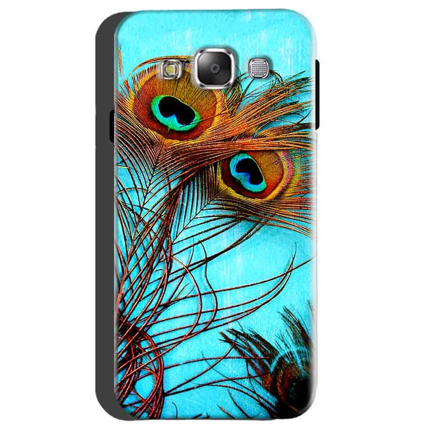 Samsung galaxy Grand 2 G7106 Mobile Covers Cases Peacock blue wings - Lowest Price - Paybydaddy.com
