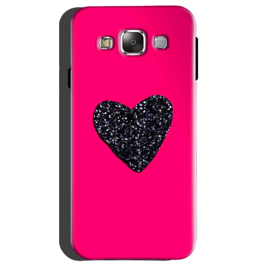 Samsung galaxy Grand 2 G7106 Mobile Covers Cases Pink Glitter Heart - Lowest Price - Paybydaddy.com
