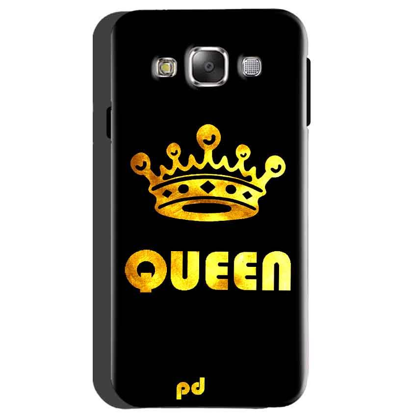 Samsung galaxy Grand 2 G7106 Mobile Covers Cases Queen With Crown in gold - Lowest Price - Paybydaddy.com