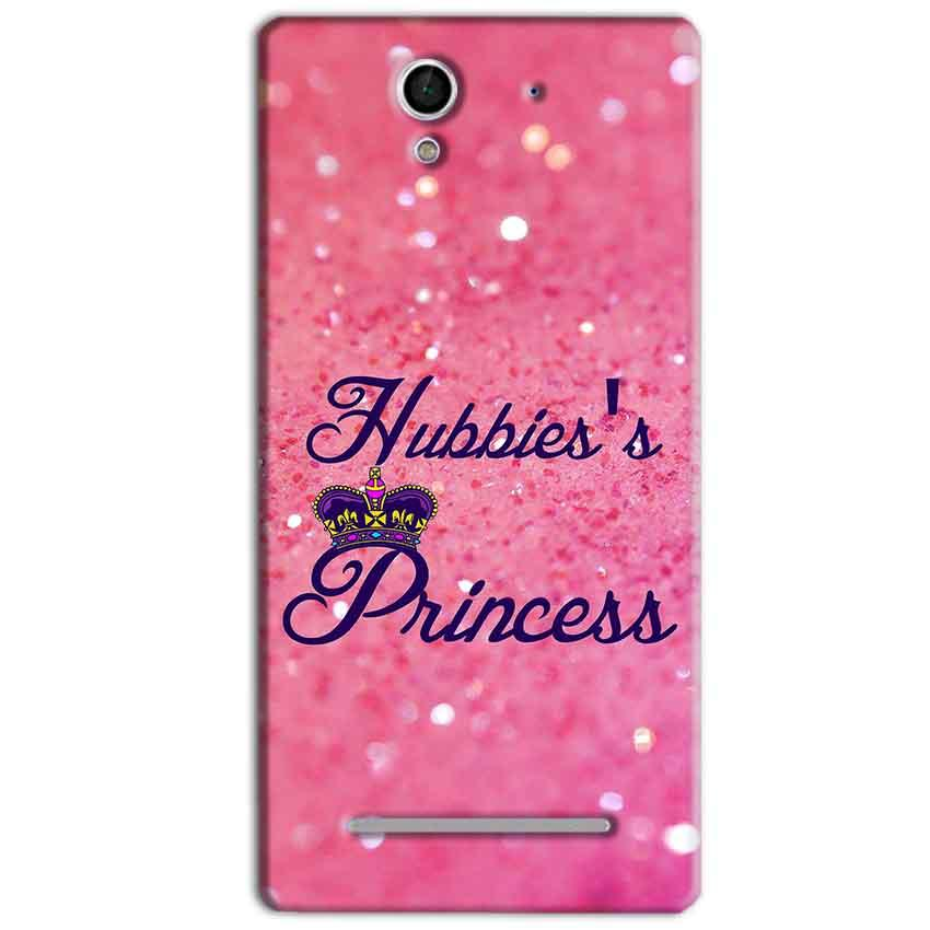 Sony Xperia C3 Mobile Covers Cases Hubbies Princess - Lowest Price - Paybydaddy.com