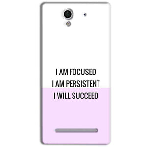 Sony Xperia C3 Mobile Covers Cases I am Focused - Lowest Price - Paybydaddy.com