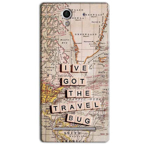 Sony Xperia C3 Mobile Covers Cases Live Travel Bug - Lowest Price - Paybydaddy.com