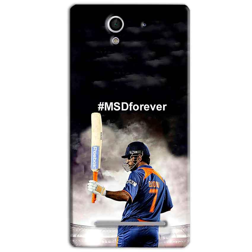 Sony Xperia C3 Mobile Covers Cases MS dhoni Forever - Lowest Price - Paybydaddy.com