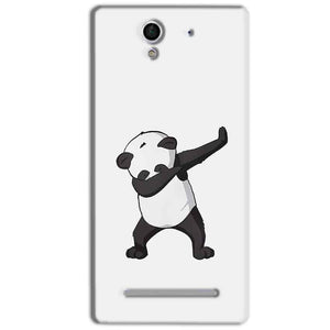 Sony Xperia C3 Mobile Covers Cases Panda Dab - Lowest Price - Paybydaddy.com